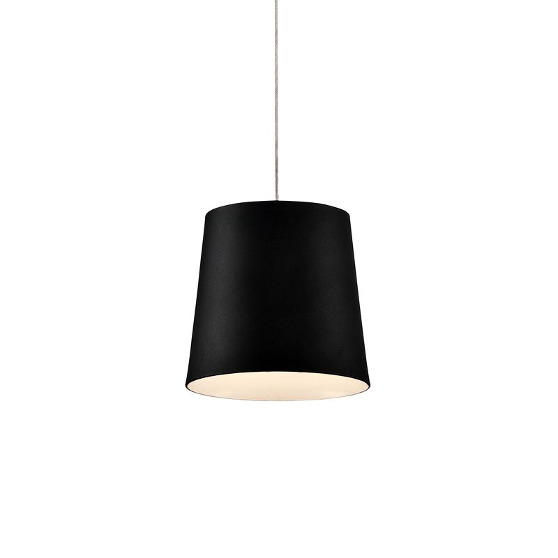 Eurofase Lighting 28161 Borto 1 Light LED Pendant Black Indoor