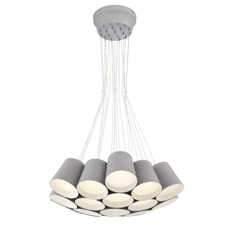 Eurofase Lighting 28165 Borto 19 Light LED Chandelier Grey Indoor