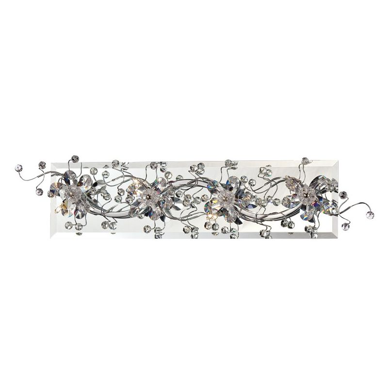 Eurofase Lighting 28179 Relic 4 Light Bathroom Vanity Fixture Chrome