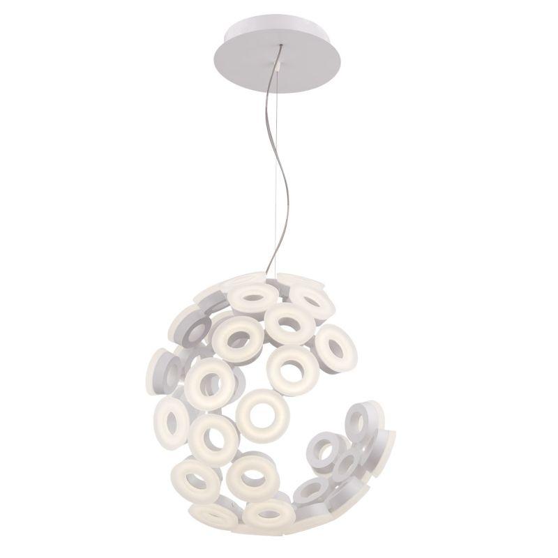 Eurofase Lighting 28182 Glendale 35 Light LED Chandelier White Indoor