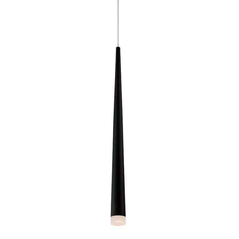 Eurofase Lighting 28232 Tassone 1 Light LED Pendant Black Indoor