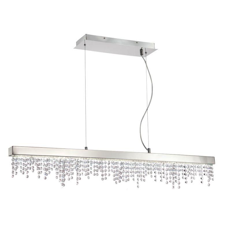 Eurofase Lighting 28236 Bayview 12 Light LED Pendant Chrome Indoor