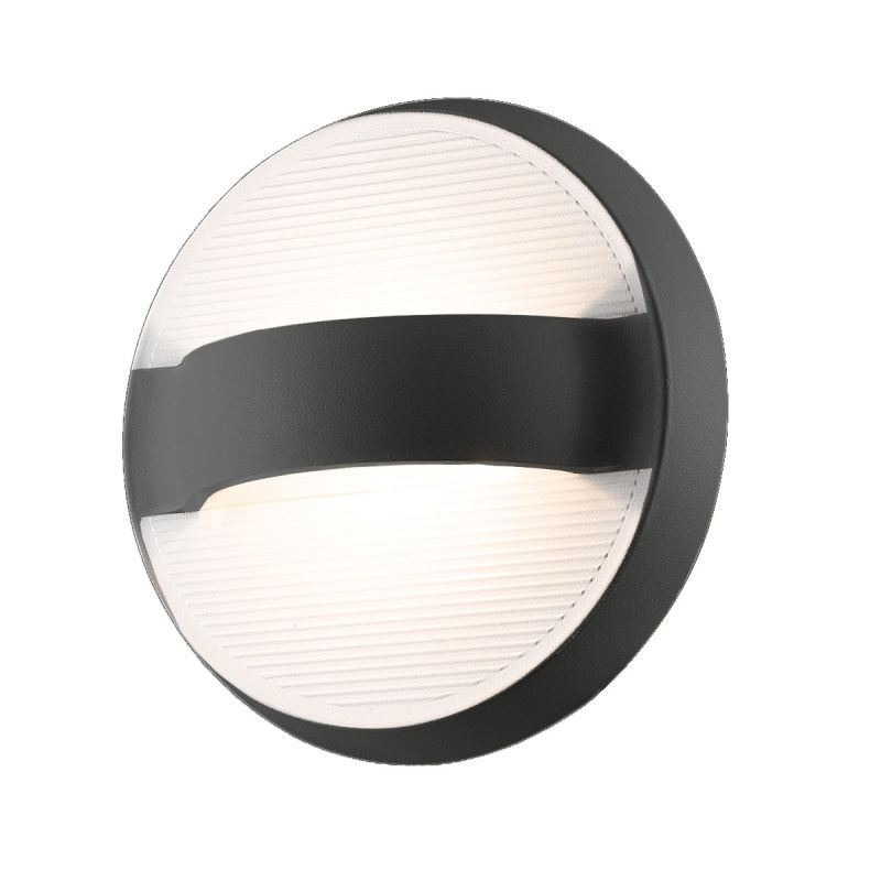 Eurofase Lighting 28274 Bay 1 Light LED Outdoor Wall Sconce Dark Grey