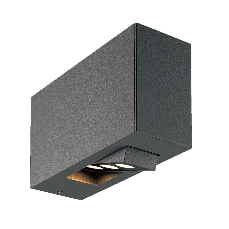 Eurofase Lighting 28280 Oscar 3 Light LED Outdoor Wall Sconce Dark