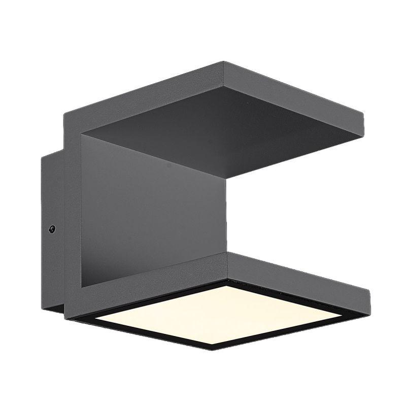 Eurofase Lighting 28284 Rail 120 Light LED Outdoor Wall Sconce Dark
