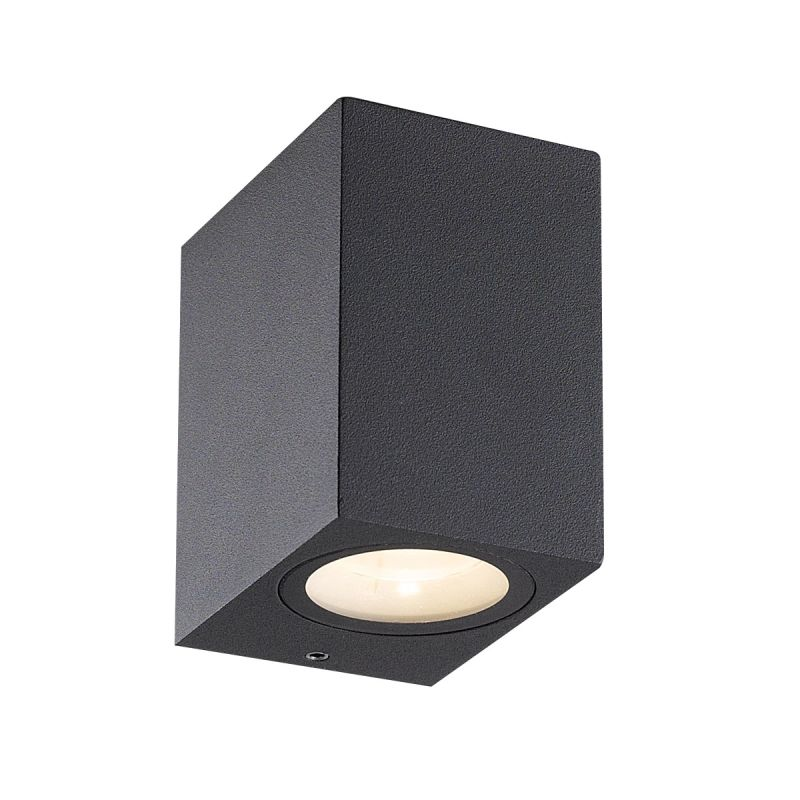 Eurofase Lighting 28291 Trek 1 Light LED Outdoor Wall Sconce Dark Grey