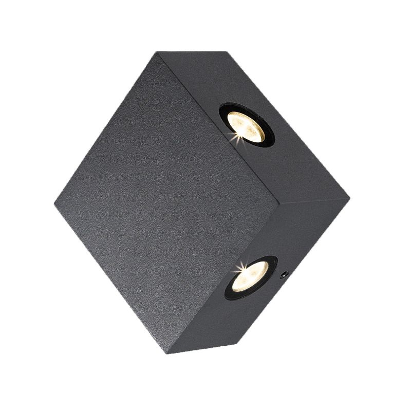 Eurofase Lighting 28297 Pike 4 Light LED Outdoor Wall Sconce Dark Grey
