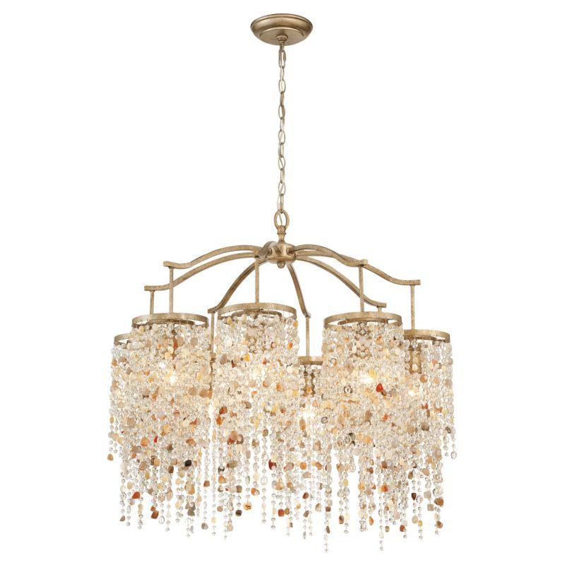Eurofase Lighting 28317 Savannah 8 Light Chandelier Gilded Imperial Sale $5080.00 ITEM: bci2660002 ID#:28317-013 UPC: 773546252737 :