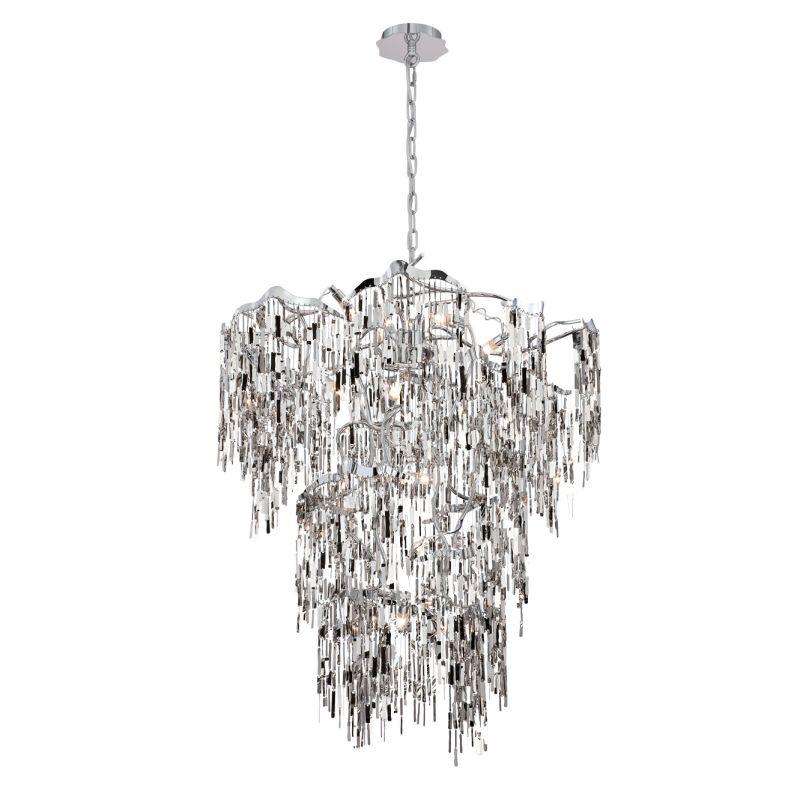 Eurofase Lighting 28359 Elfassy 19 Light Chandelier Chrome Indoor Sale $4420.00 ITEM: bci2660020 ID#:28359-013 UPC: 773546254847 :