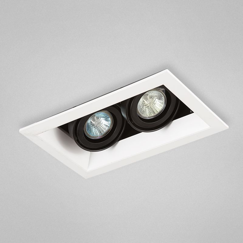 Eurofase Lighting TE112 MR16 Directional 2 Light Recessed Trim White