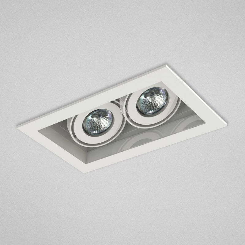 "Eurofase Lighting TE112TR 2 Light 11"" Rectangle Adjustable Recessed"