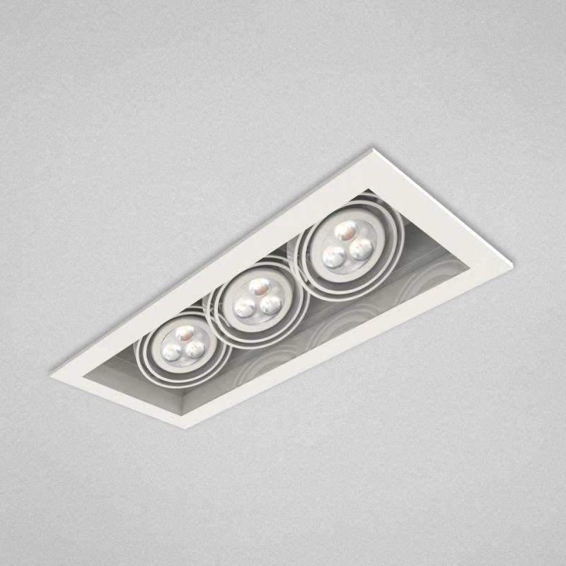 Eurofase Lighting TE113LED 3 Light 14.5&quote Rectangle Adjustable LED