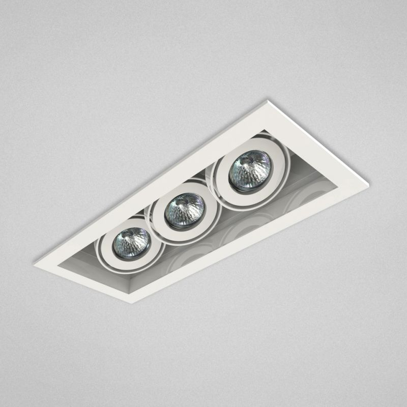 "Eurofase Lighting TE113TR 3 Light 15"" Rectangle Adjustable Recessed"