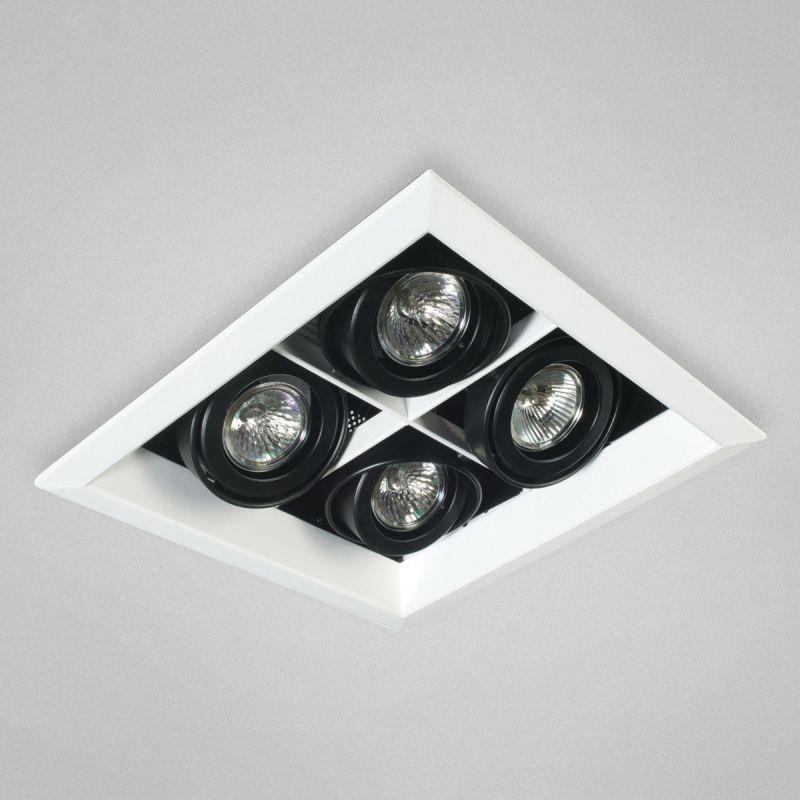 "Eurofase Lighting TE114B 4 Light 11"" Square Adjustable Recessed Light"