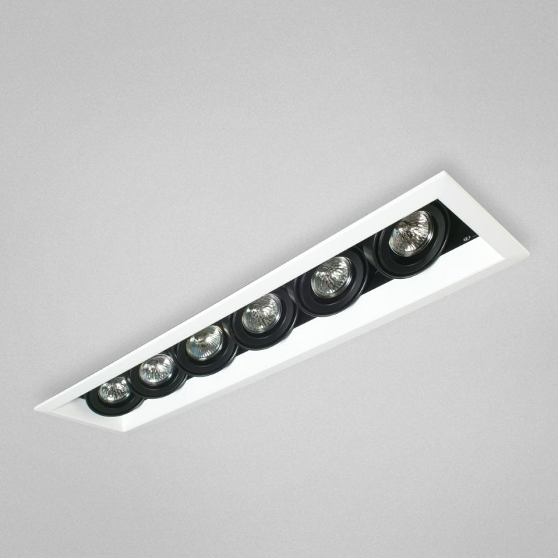 "Eurofase Lighting TE116A 6 Light 27"" Rectangle Adjustable Recessed"