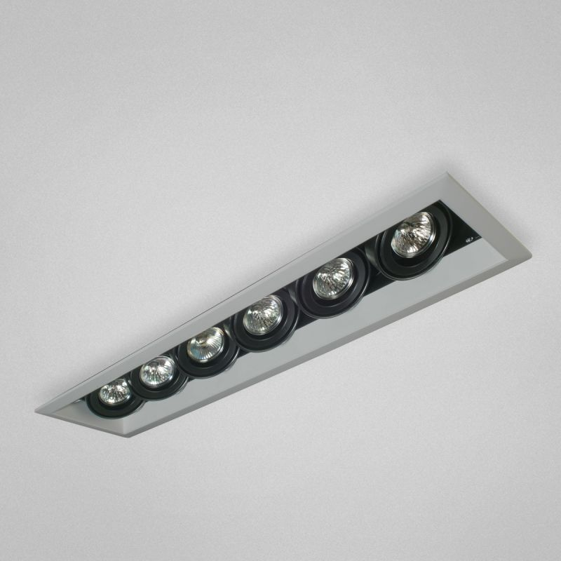 "Eurofase Lighting TE116A 6 Light 27"" Rectangle Adjustable Recessed"