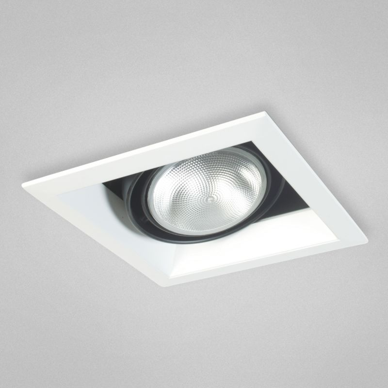"Eurofase Lighting TE131 1 Light 8"" Square Adjustable Recessed Light"