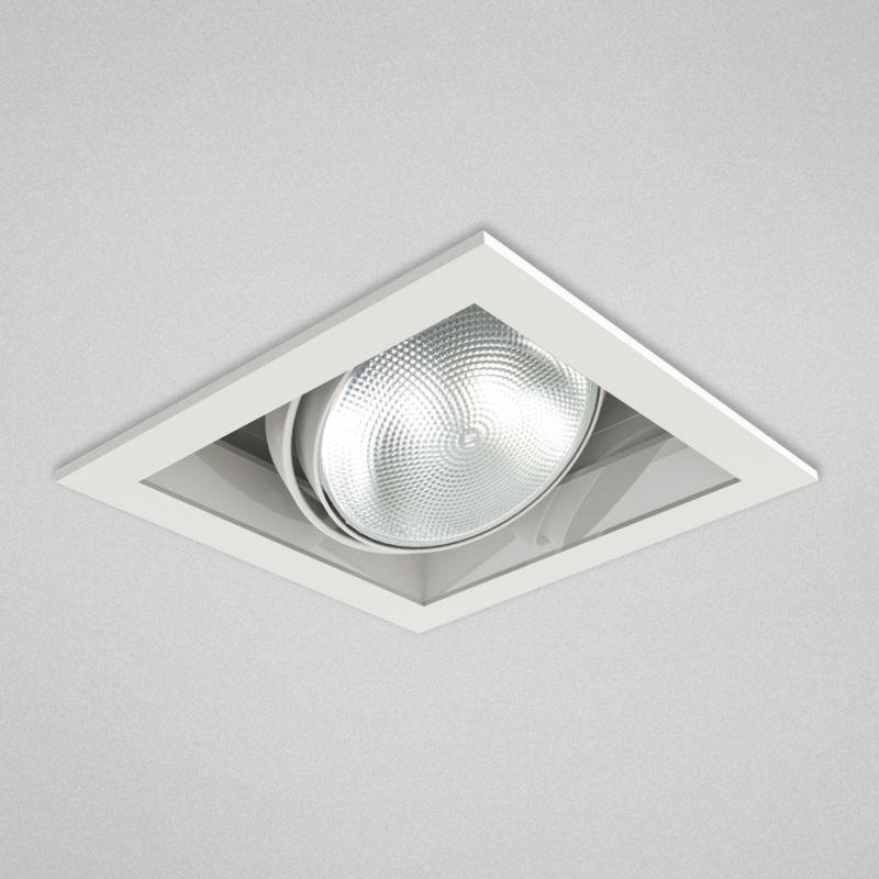 "Eurofase Lighting TE131 1 Light 8"" Square Adjustable Recessed Light"