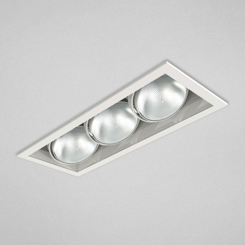 "Eurofase Lighting TE133 3 Light 19"" Rectangle Adjustable Recessed"