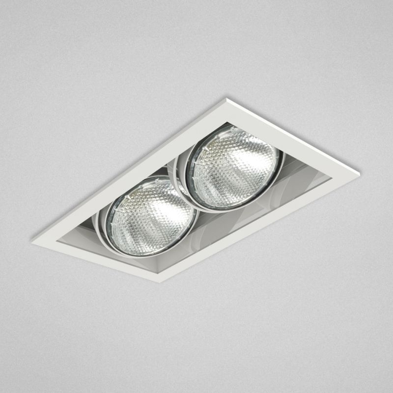 "Eurofase Lighting TE162 2 Light 11"" Rectangle Adjustable Recessed"