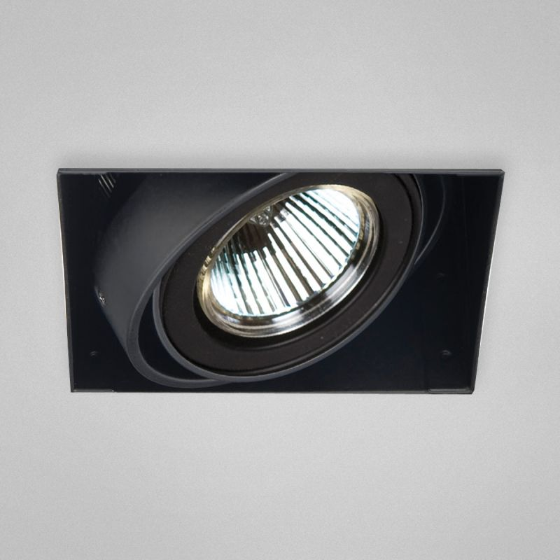 "Eurofase Lighting TE211 1 Light 4"" Trimless Square Adjustable Recessed"