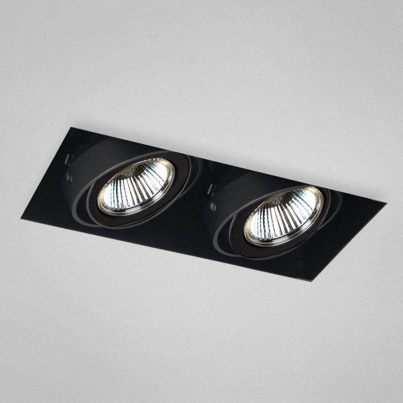 "Eurofase Lighting TE212TR 2 Light 9"" Trimless Rectangle Adjustable"