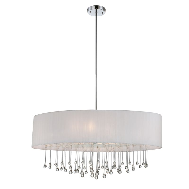 Eurofase Lighting 16034 Penchant 6 Light Oval Pendant with Hanging