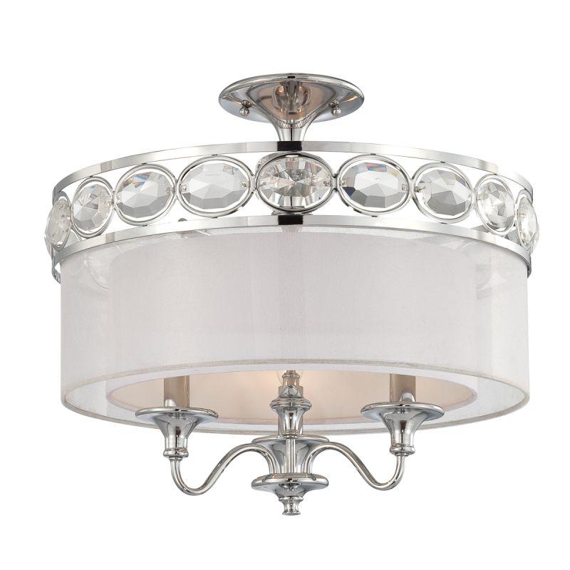 Eurofase Lighting 20295 Bijoux 3 Light Semi Flush Mount Ceiling Sale $574.00 ITEM: bci1956580 ID#:20295-028 :