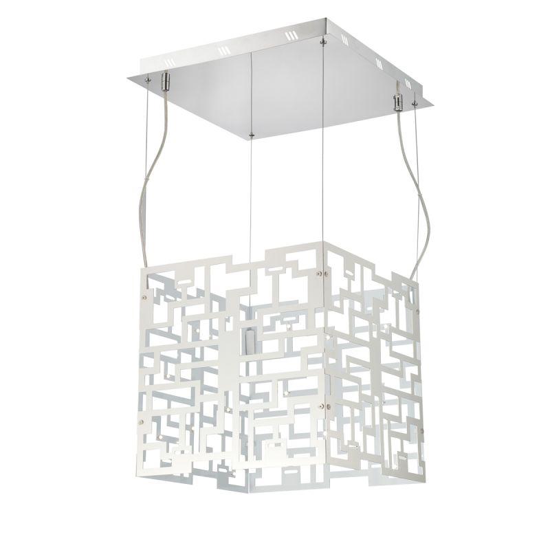 Eurofase Lighting 22786 Metrix 32 Light Pendant with Geometric Shade