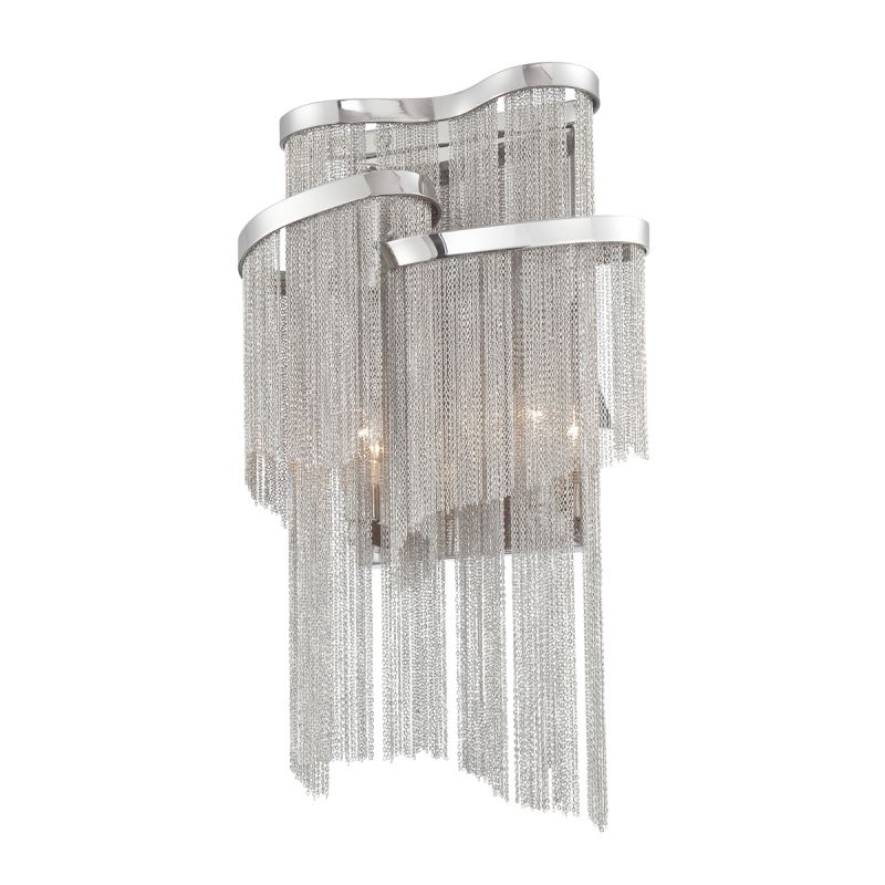 Eurofase Lighting 22821-010 Nickel Contemporary Cadena Wall Sconce