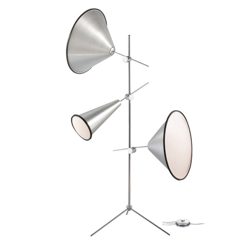 Eurofase Lighting 22977 Manera 3 Light Floor Lamp Aluminum Lamps Tree