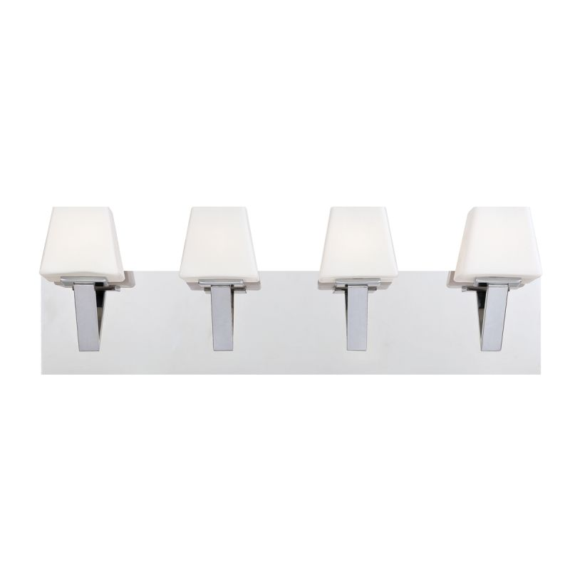 Eurofase Lighting 23043 Anglo 4 Light Bathroom Fixture with Tapered