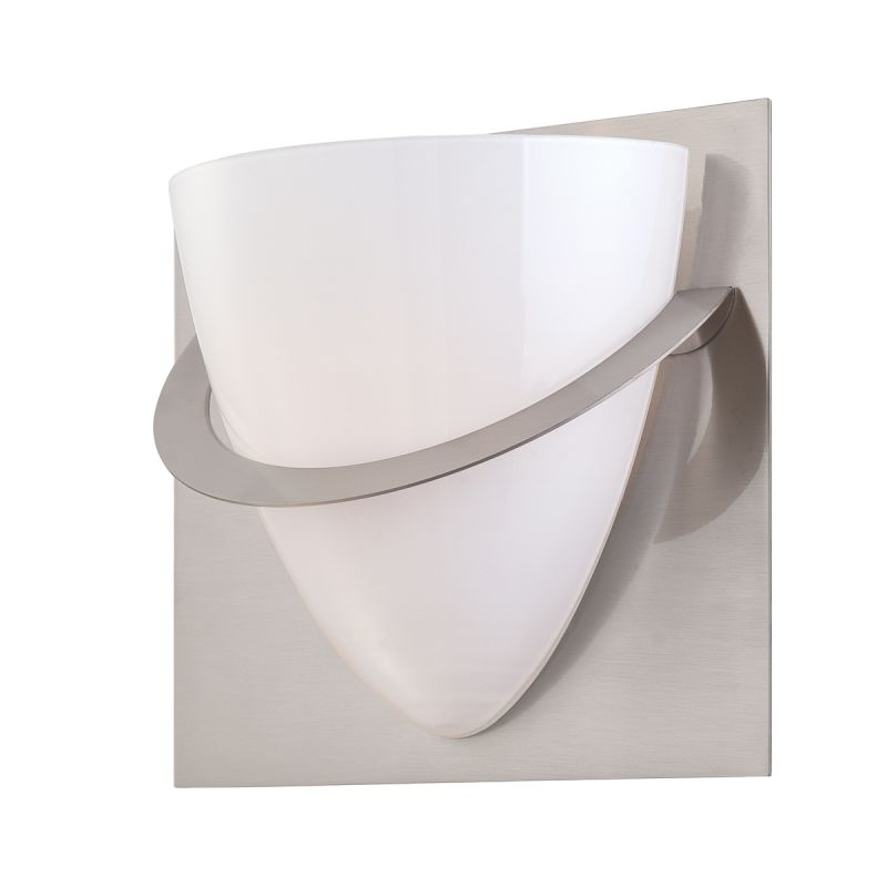 Eurofase Lighting 23045 Forma 1 Light Wall Sconce with Opal White