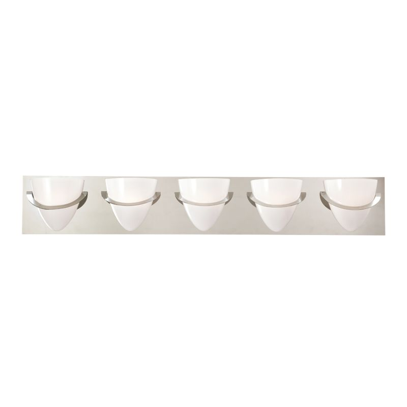 Eurofase Lighting 23048 Forma 5 Light Bathroom Fixture with Opal White Sale $328.00 ITEM: bci1956816 ID#:23048-010 :