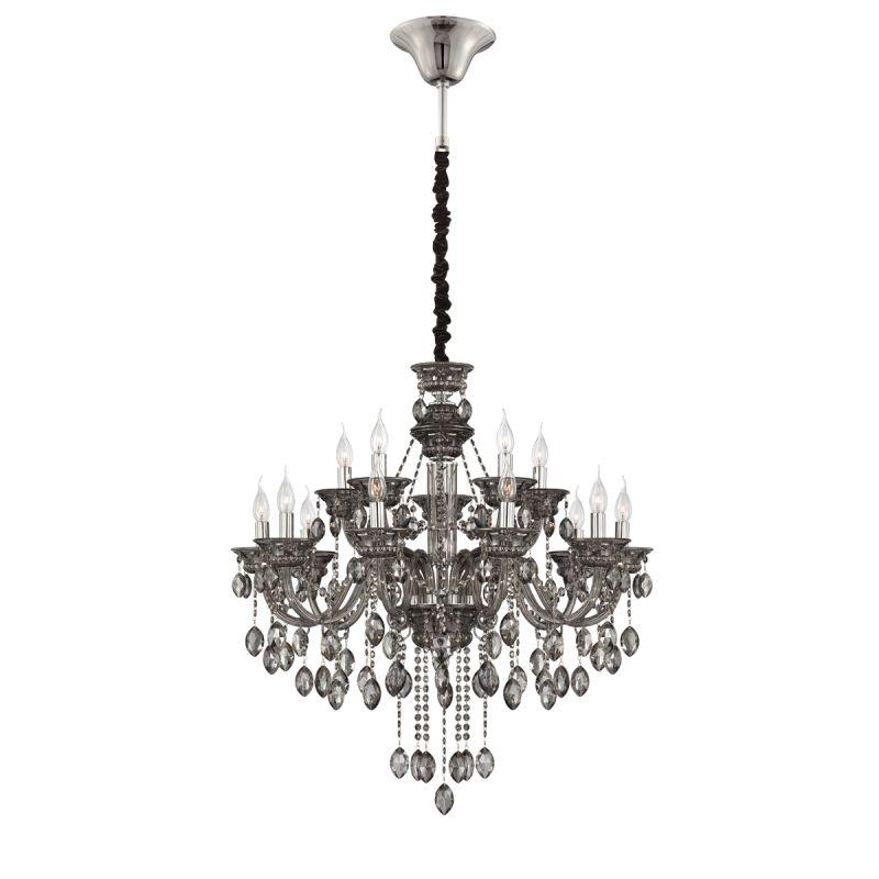 Eurofase Lighting 23127 Venetian 15 Light Chandelier with Crystal