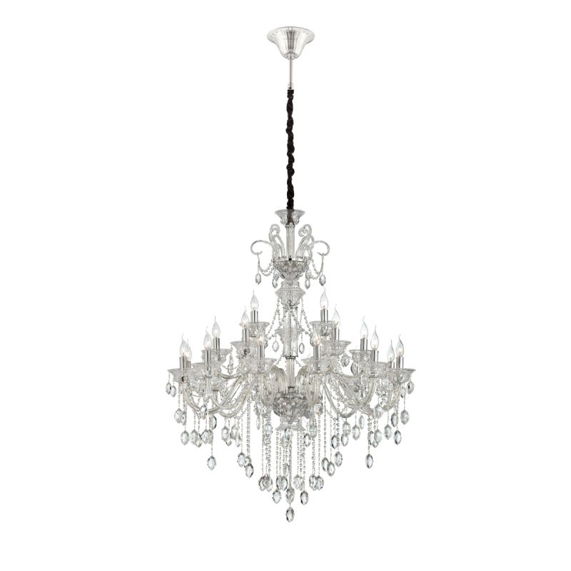 Eurofase Lighting 23128 Venetian 21 Light Chandelier with Crystal