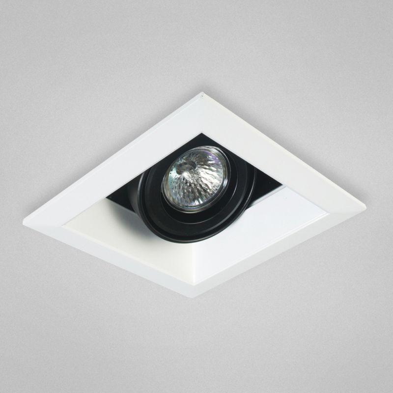 Eurofase Lighting TE111 MR16 Directional 1 Light Recessed Trim White