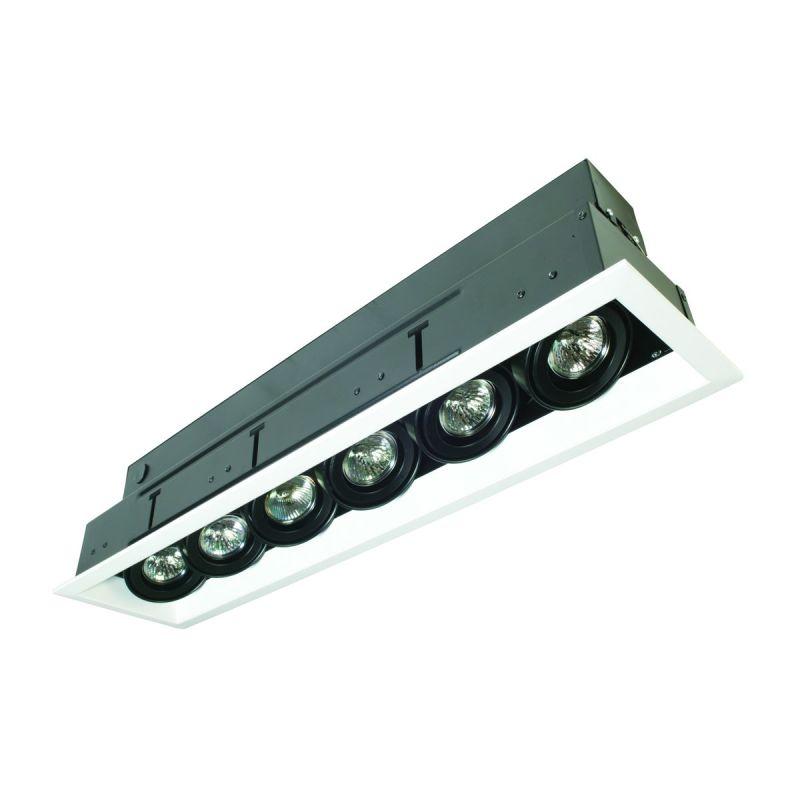 Eurofase Lighting TE116ATR MR16 Directional 6 Light Recessed Trim with