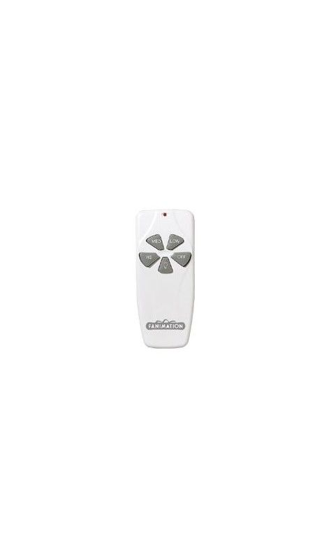 Fanimation C4 Fan Control White Fan Accessories