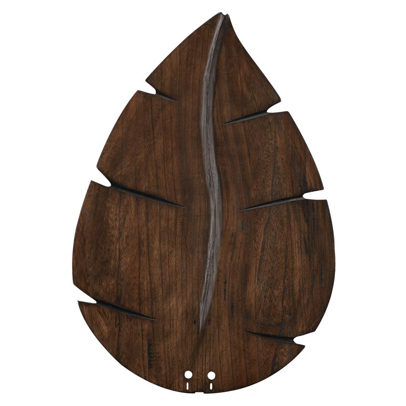 "Fanimation B6080 26"" Wide Oval Leaf Carved Wood Blades for 60"" Ceiling"