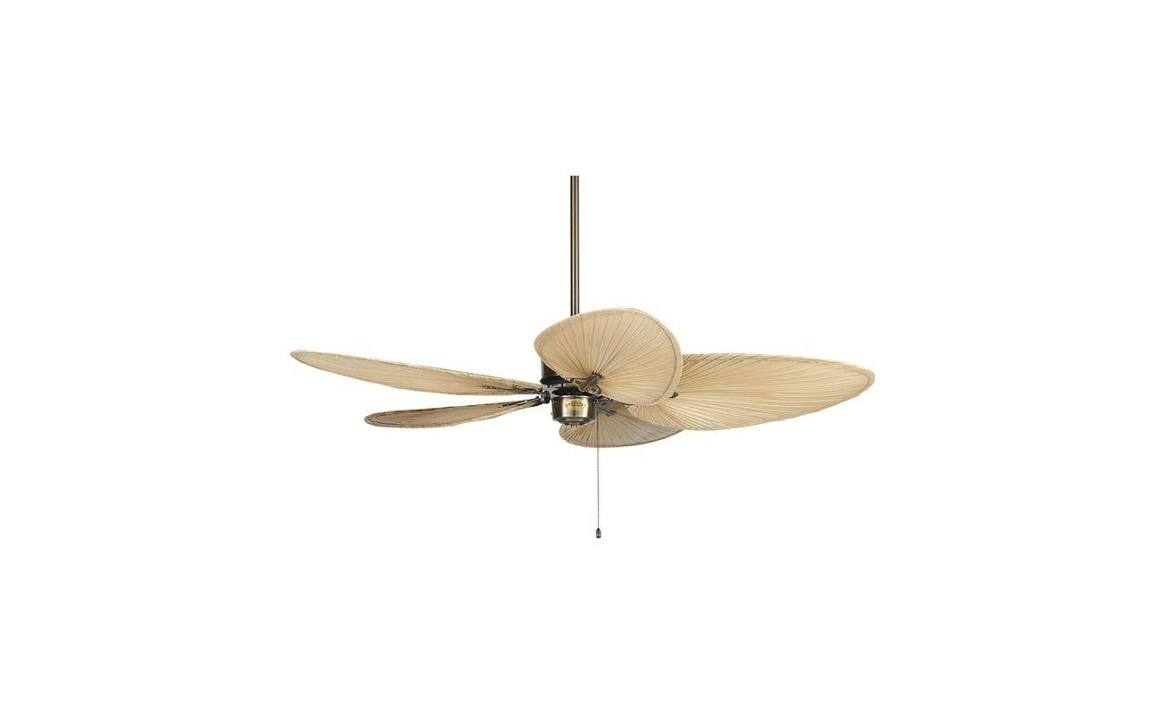 "Fanimation FP320-ISD1A Islander 52"" 5 Blade Ceiling Fan - Antique"