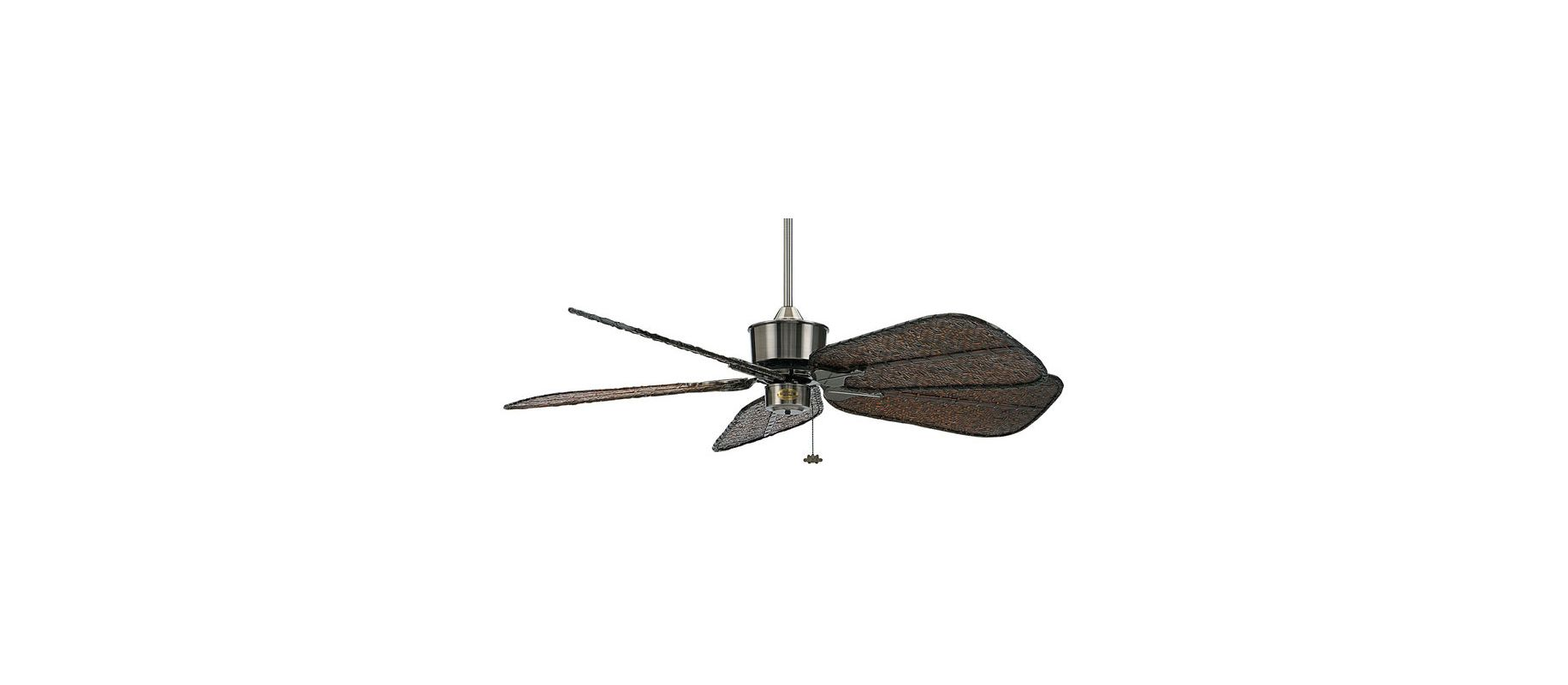 "Fanimation FP320-ISD7A Islander 52"" 5 Blade Ceiling Fan - Antique"