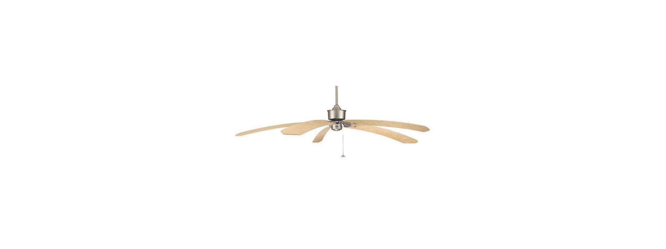 "Fanimation FP320SN1 44"" 5 Blade FanSync Compatible Ceiling Fan - Sale $334.95 ITEM: bci2368142 ID#:FP320SN1 UPC: 840506042124 :"