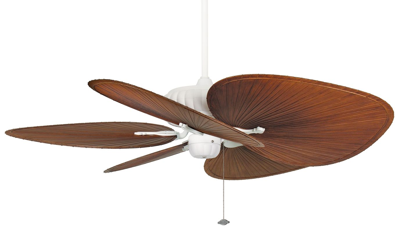 "Fanimation FP4320-BPP1BR Belleria 52"" 5 Blade Outdoor Ceiling Fan -"