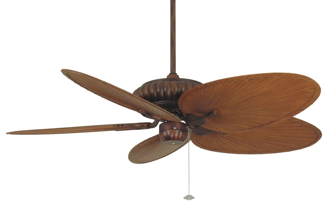 "Fanimation FP4320-BPP4BR Belleria 52"" 5 Blade Outdoor Ceiling Fan -"
