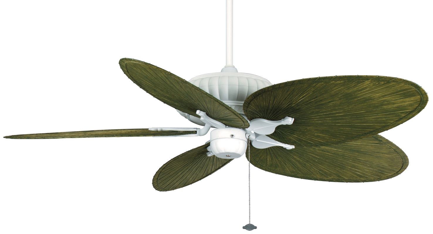 "Fanimation FP4320-BPP4GR Belleria 52"" 5 Blade Outdoor Ceiling Fan -"