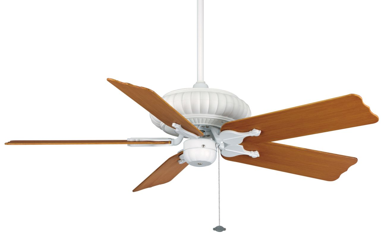 """Fanimation FP4320-BPW10CY Belleria 49"""" 5 Blade Outdoor Ceiling Fan -"""