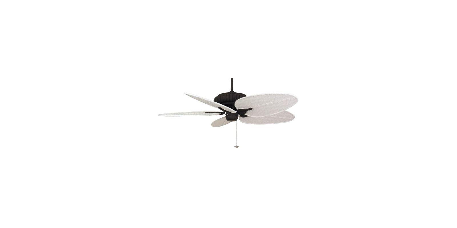 """Fanimation FP4320-BPD4MW Belleria 52"""" 5 Blade Outdoor Ceiling Fan -"""