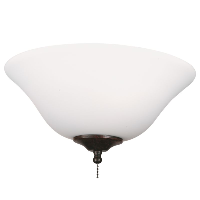 "Fanimation G456 13"" Frosted Glass Bowl Shade for F423 or FW423 Fitters"