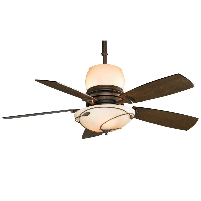 Ceiling fans with uplights : Fanimation hf bz bronze quot blade ceiling fan